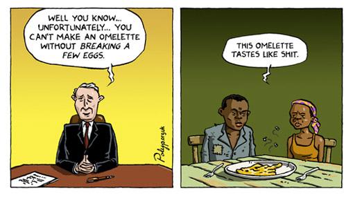 satire essay on poverty