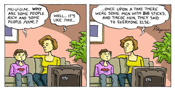 rich vs poor cartoons - photo #30